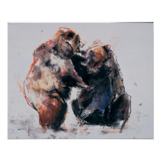 European Brown Bears 2001 Poster