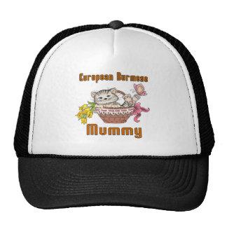 European Burmese Cat Mom Trucker Hat