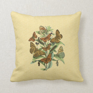 European Butterflies 1 Throw Pillow