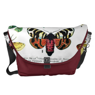 European Butterflies Courier Bag