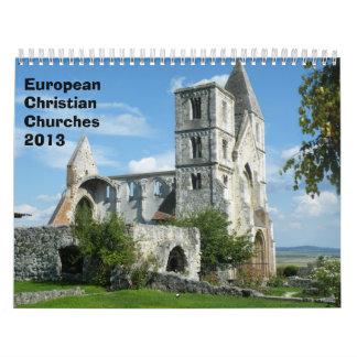 European Christian Churches  2013 Calendars