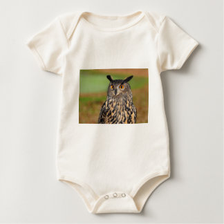 European Eagle Owl Baby Bodysuit