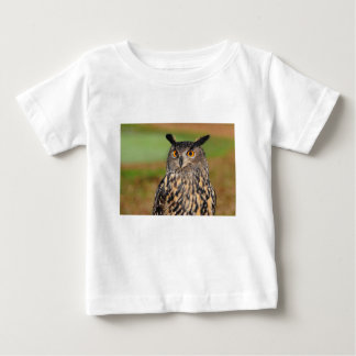 European Eagle Owl Baby T-Shirt