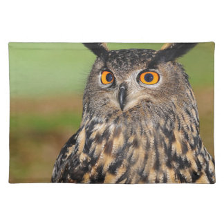 European Eagle Owl Placemat