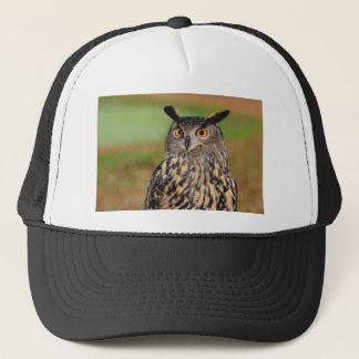 European Eagle Owl Trucker Hat