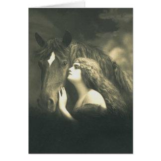 European Equine Photo Art 2 Card