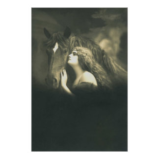 European Equine Photo Art 2 Poster