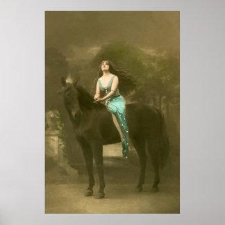 European Equine Photo Art 4 Poster