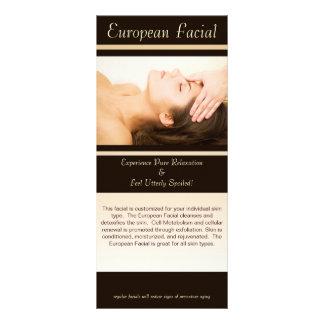 European Facial, European Facial, This facial i... Rack Card