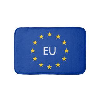 European flag bath mat | Monogram bathroom rug