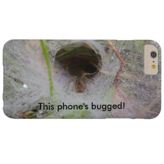 European Funnel Web Spider Bugged iPhone Case