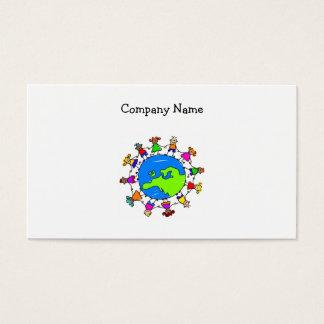 European Kids Business Card