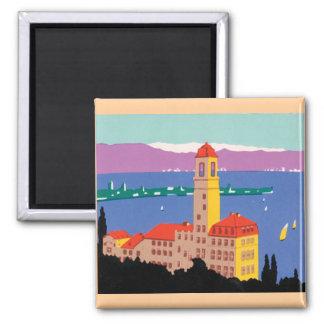 European Lake Poster Magnet