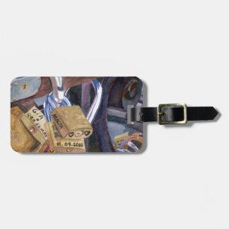 European Locks Luggage Tag