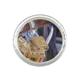 European Locks Photo Ring