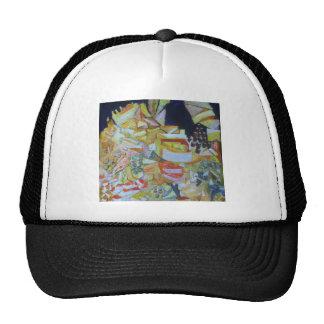European Market - cheese stall Trucker Hat