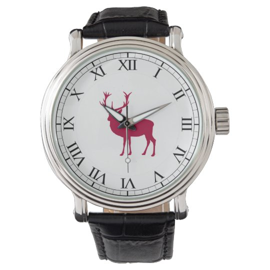 European Red Deer Christmas or Stag Party Watches