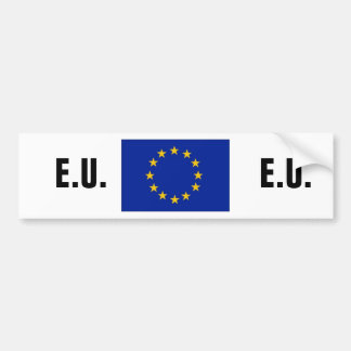 European union bumper sticker