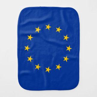 European Union Burp Cloth