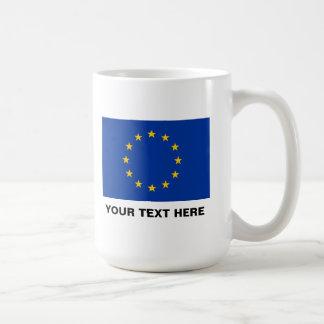 European Union flag big coffee mug | EU Europe