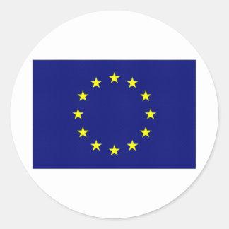 European Union Flag Classic Round Sticker