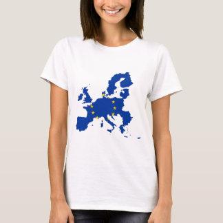 European Union Flag Map T-Shirt