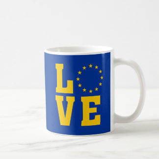 European Union LOVE mug