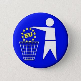 European union-protest 2 inch round button