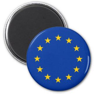 European Union Stars 2 Inch Round Magnet