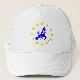 European union trucker hat