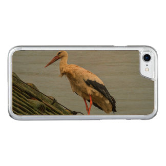 European white stork, ciconia carved iPhone 8/7 case