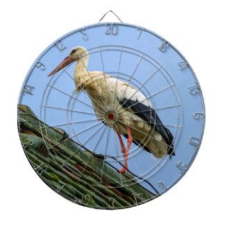 European white stork, ciconia dartboard