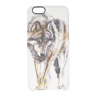 European Wolf Clear iPhone 6/6S Case