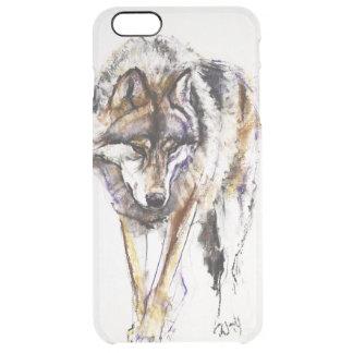 European Wolf Clear iPhone 6 Plus Case