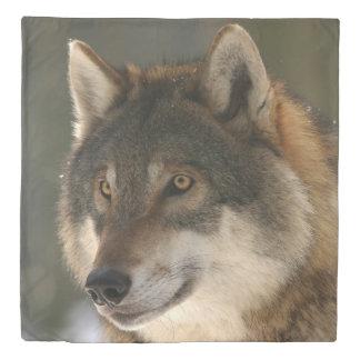 European Wolf Duvet Cover