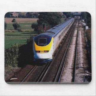 Eurostar passenger train mouse pad