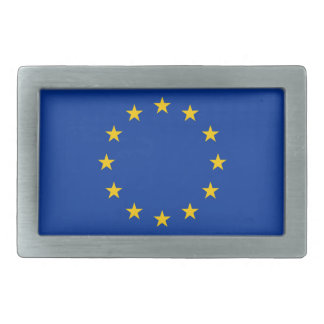 Eurpean Union flag belt buckle gift for him or her