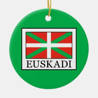 Euskadi Ceramic Ornament