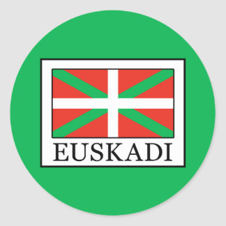 Euskadi Classic Round Sticker