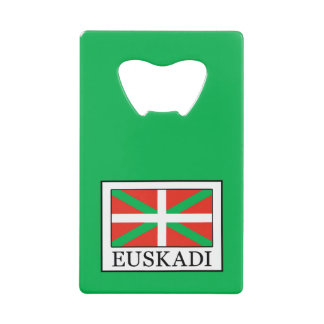 Euskadi Credit Card Bottle Opener