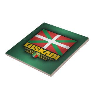 Euskadi Flag Ceramic Tile