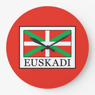 Euskadi Large Clock