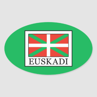 Euskadi Oval Sticker