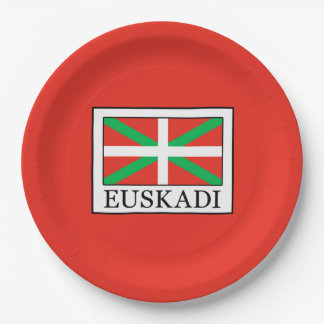Euskadi Paper Plate