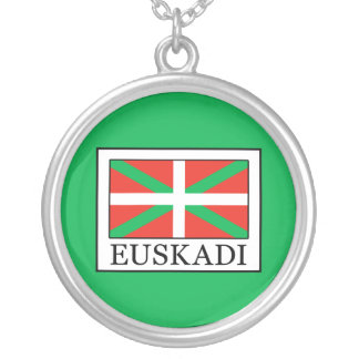 Euskadi Silver Plated Necklace