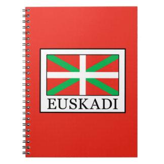 Euskadi Spiral Notebook