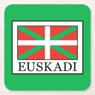 Euskadi Square Paper Coaster