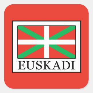 Euskadi Square Sticker