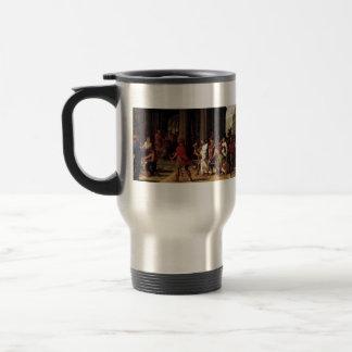 Eustache Sueur- Saints Brought before Anastasius Stainless Steel Travel Mug