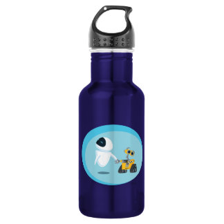 EVA and WALL-E 532 Ml Water Bottle